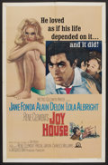 "Movie Posters:Crime, Joy House (MGM, 1964). One Sheet (27"" X 41""). Crime. ..."