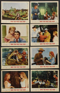 "Movie Posters:Western, How the West Was Won (MGM, 1962). Lobby Card Set of 8 (11"" X 14""). Western. ..."
