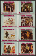"Movie Posters:Elvis Presley, Easy Come, Easy Go (Paramount, 1967). Lobby Card Set of 8 (11"" X14""). Elvis Presley. ..."