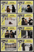 "Movie Posters:Thriller, Billion Dollar Brain (United Artists, 1967). Lobby Card Set of 8 (11"" X 14""). Thriller. ..."