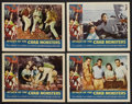 """Movie Posters:Science Fiction, Attack of the Crab Monsters (Allied Artists, 1957). Lobby Card Setof 4 (11"""" X 14""""). Science Fiction. ..."""
