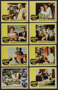 "Movie Posters:Horror, The Alligator People (20th Century Fox, 1959). Lobby Card Set of 8 (11"" X 14""). Horror. ..."