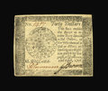 Colonial Notes:Continental Congress Issues, Continental Currency Counterfeit April 11, 1778 $40 About New....