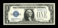 Small Size:Silver Certificates, Fr. 1601 $1 1928A Silver Certificate. Choice Crisp Uncirculated.. ...