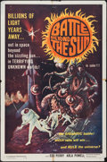 "Movie Posters:Science Fiction, Battle Beyond the Sun (Film Group, 1962). One Sheet (27"" X 41"").Science Fiction.. ..."