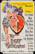 "Movie Posters:Exploitation, The Beat Generation (MGM, 1959). One Sheet (27"" X 41""), Title LobbyCard & Lobby Cards (3) (11"" X 14""). Exploitation.. ... (Total:5 Items)"