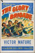 "Movie Posters:War, The Glory Brigade (20th Century Fox, 1953). One Sheet (27"" X 41"").War.. ..."