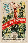 "Movie Posters:Documentary, The Golden Twenties (RKO, 1950). One Sheet (27"" X 41"") and Lobby Card Set of 8 (11"" X 14""). Documentary.. ... (Total: 9 Items)"