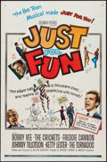 """Movie Posters:Rock and Roll, Just for Fun (Columbia, 1963). One Sheet (27"""" X 41""""). Rock andRoll.. ..."""