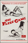 """Movie Posters:Sexploitation, The Flesh Game (JER Pictures, 1966). One Sheet (27"""" X 41"""").Sexploitation.. ..."""