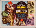 "Movie Posters:Adventure, Kim (MGM, 1950). Half Sheet (22"" X 28"") Style B. Adventure.. ..."