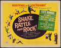 """Movie Posters:Rock and Roll, Shake, Rattle and Rock (American International, 1956). Half Sheet (22"""" X 28""""). Rock and Roll.. ..."""