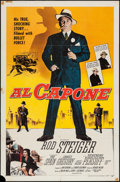 """Movie Posters:Crime, Al Capone (Allied Artists, 1959). One Sheet (27"""" X 41""""). Crime....."""