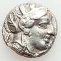 Ancients:Greek, Ancients: ATTICA. Athens. Ca. 454-404 BC. AR tetradrachm(16.96 gm)....