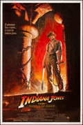 """Movie Posters:Adventure, Indiana Jones and the Temple of Doom (Paramount, 1984). Poster (40""""X 60""""). Adventure.. ..."""