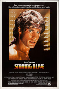 """Staying Alive & Other Lot (Paramount, 1983). Posters (2) (40"""" X 60""""). Musical. ... (Total: 2 Items)"""