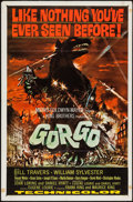 "Movie Posters:Science Fiction, Gorgo (MGM, 1961). One Sheet (27"" X 41"") & Heralds (4) (11"" X17""). Science Fiction.. ... (Total: 5 Items)"