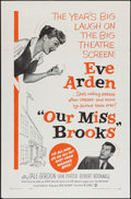 "Movie Posters:Comedy, Our Miss Brooks (Warner Brothers, 1956). One Sheet (27"" X 41""). Comedy.. ..."