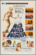 "Movie Posters:Rock and Roll, Wild, Wild Winter (Universal, 1966). One Sheet (27"" X 41""). Rock and Roll.. ..."