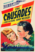 "Movie Posters:Adventure, The Crusades (Paramount, 1935). One Sheet (27"" X 41"") Style C.. ..."