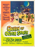 """Movie Posters:Science Fiction, Queen of Outer Space (Allied Artists, 1958). Poster (30"""" X 40"""")....."""