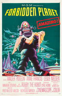 "Forbidden Planet (MGM,1956). One Sheet (27"" X 41"")"