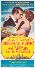 "Movie Posters:Romance, An Affair to Remember (20th Century Fox, 1957). Three Sheet (41.5""X 79"").. ..."