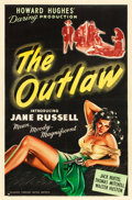 "Movie Posters:Western, The Outlaw (United Artists, 1946). One Sheet (27"" X 41"").. ..."