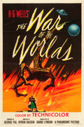 "Movie Posters:Science Fiction, The War of the Worlds (Paramount, 1953). One Sheet (27"" X 41"")....."