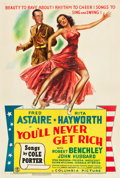 """Movie Posters:Musical, You'll Never Get Rich (Columbia, 1941). One Sheet (27"""" X 41"""") Style C.. ..."""