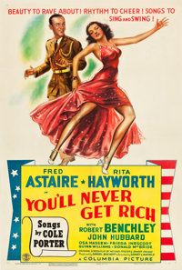 """You'll Never Get Rich (Columbia, 1941). One Sheet (27"""" X 41"""") Style C"""