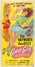 "Movie Posters:Musical, Cover Girl (Columbia, 1944). Three Sheet (41"" X 80"").. ..."