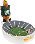 Football Collectibles:Others, 1960's Green Bay Packers Kail Statue Ashtray....