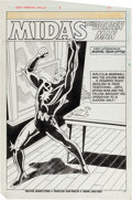 Original Comic Art:Splash Pages, Don Perlin and Jack Abel Web of Spider-Man Annual #3 Page 37Original Art (Marvel, 1987)....