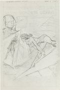 Original Comic Art:Miscellaneous, Bob Brown Wonder Woman #231 Page 1 Pencil PreliminaryOriginal Art (DC, 1977)....