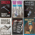 Books:Mystery & Detective Fiction, Donald Westlake. Group of 6 First Edition, First Printing Books, 4Signed or Inscribed. Bad News and Corkscrew are u...(Total: 6 Items)