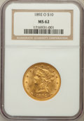 Liberty Eagles: , 1892-O $10 MS62 NGC. NGC Census: (164/0). PCGS Population (141/7).Mintage: 28,688. Numismedia Wsl. Price for problem free ...
