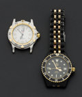 Timepieces:Wristwatch, Two Tag Heuer Men's Wristwatches. ... (Total: 2 Items)