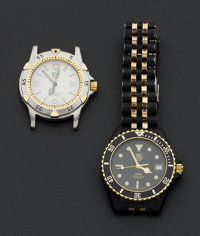 Two Tag Heuer Men's Wristwatches
