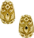 Estate Jewelry:Earrings, Gold Earrings, Katy Briscoe. ...