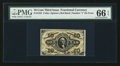 Fractional Currency:Third Issue, Fr. 1252 10¢ Third Issue PMG Gem Uncirculated 66 EPQ.. ...