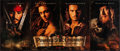 "Movie Posters:Adventure, Pirates of the Caribbean: The Curse Of The Black Pearl (BuenaVista, 2003). Promotional Poster (21"" X 49.5"") DS Advance. Adv..."