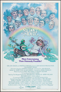 """The Muppet Movie (Associated Film Distributors, 1979). One Sheet (27"""" X 41"""") & Soundtrack Poster (22&q..."""
