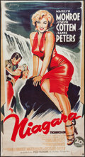 "Movie Posters:Film Noir, Niagara (20th Century Fox, R-1980s). French Grande (33.5"" X 62"").Film Noir.. ..."