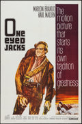 "Movie Posters:Western, One-Eyed Jacks (Paramount, 1961). One Sheet (27"" X 41""). Western.. ..."