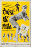 """Movie Posters:Rock and Roll, Twist All Night (American International, 1962). One Sheet (27"""" X41"""") and Lobby Cards (7) (11"""" X 14""""). Rock and Roll.. ... (Total: 8Items)"""