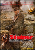 """Movie Posters:War, Cross of Iron & Others Lot (Neue Constantin-Film, 1977). GermanA1 (23"""" X 33"""") & Photos (8) (8"""" X 10""""). War.. ... (Total: 9Items)"""
