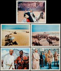 "Movie Posters:Academy Award Winners, Lawrence of Arabia (Columbia, 1962 & R-1971). Deluxe ColorPhoto Set of 9 (11"" X 14""), Photos (36) (8"" X 10""), & MiniLobby ... (Total: 46 Items)"