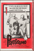 """Movie Posters:Foreign, Psycosissimo (Ellis, 1962). One Sheet (27"""" X 41""""). Foreign.. ..."""
