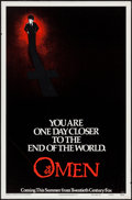 """Movie Posters:Horror, The Omen (20th Century Fox, 1976). One Sheet (27"""" X 41"""") Style A Advance. Horror.. ..."""